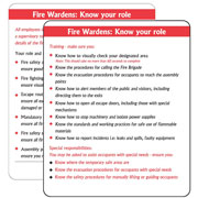 Fire Safety Signs Pack of 10 PG02