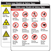 Prohibition Signs Pack of 10 PG06