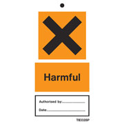 Harmful Labels Pack of 10 TIE028