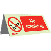 Tabletop No Smoking Pack of 5 TT3656