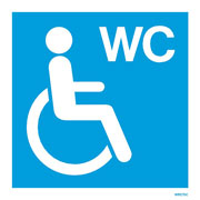 Disabled Toilet W9275