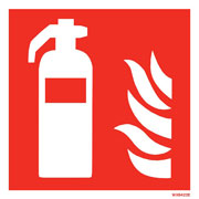 White Fire Extinguisher WX6422