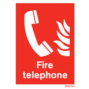 White Fire Telephone WX6451