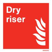 White Dry Riser WX6591