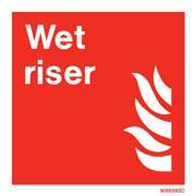 White Wet Riser WX6592