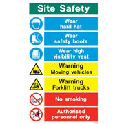 White Site Safety WX9317