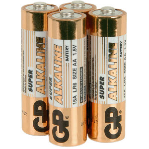 AA Long Life Batteries x 4
