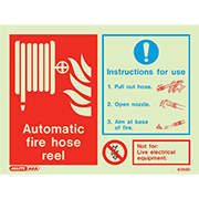 Automatic hose reel instruction 6394D