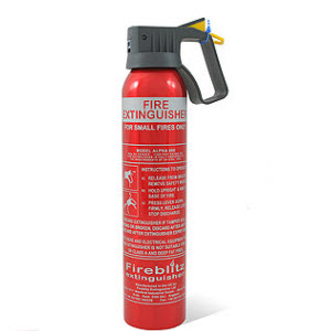 FX Fire 0.6kg car extinguisher