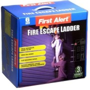 First Alert three storey fire escape ladder