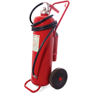 50 litre foam wheeled extinguisher