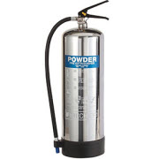 Chrome 9kg powder extinguisher