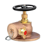 Right-Angle Globe Pattern Landing Valves