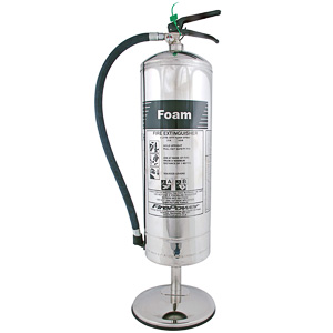 Stainless extinguisher stand 9ltr