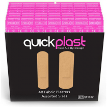 Quick Plast Fabric Plasters pack of 40