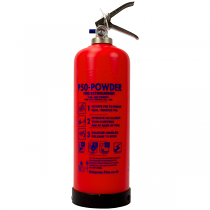 Service-Free 2kg Powder Fire Extinguisher