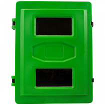 Green breathing apparatus box