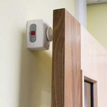 Acoustic Battery Operated Door Holder