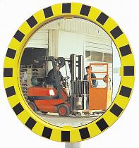 Round Industrial  Warehouse Mirror