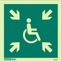 Safe Area 4654 Sign