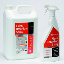 Fire retardant spray