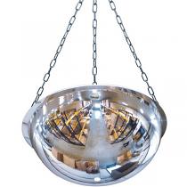 Ceiling Mount Medium Industrial Mirror