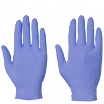 Powderfree Blue Nitrile Gloves