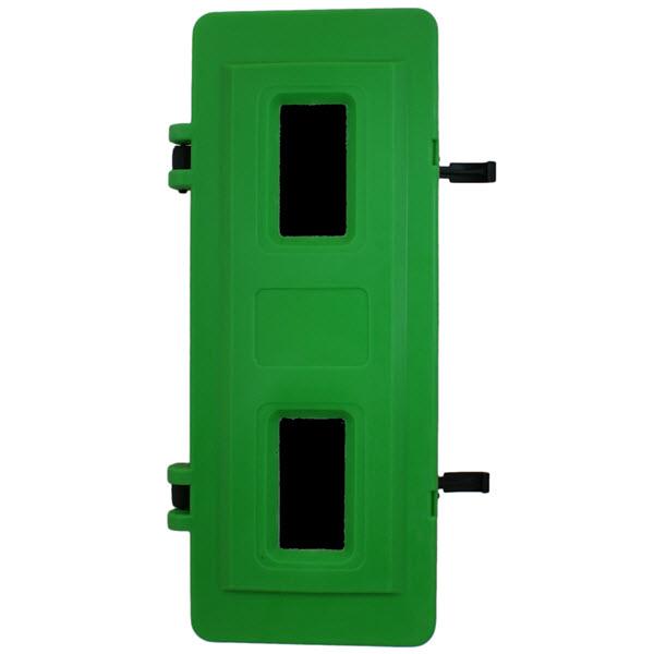 Green breathing apparatus box