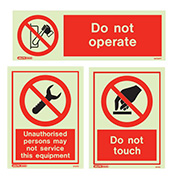 Do Not Do Signs