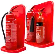 Economy extinguisher stands