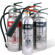Chrome Fire Extinguishers