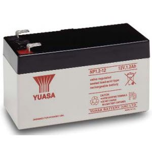 Yuasa NP1.2-12 Sealed Lead Acid Battery