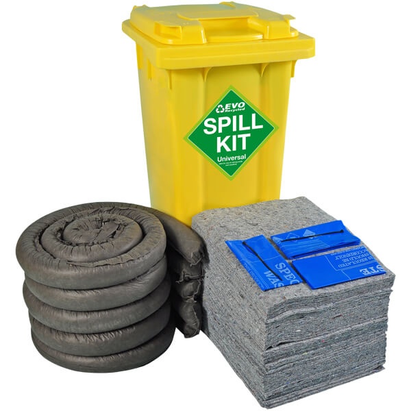 120 Litre Wheeled Spill Kit