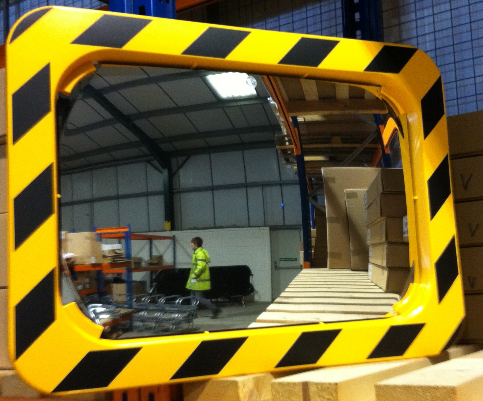 Industrial Warehouse Mirror