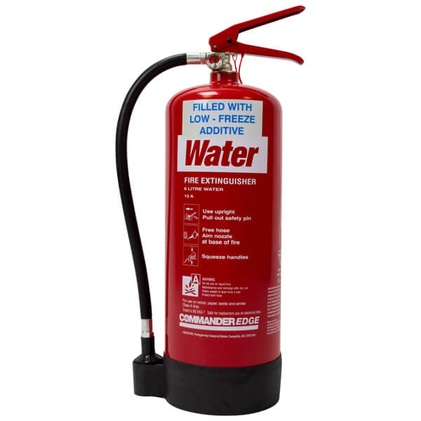 6ltr Water Extinguisher With Antifreeze