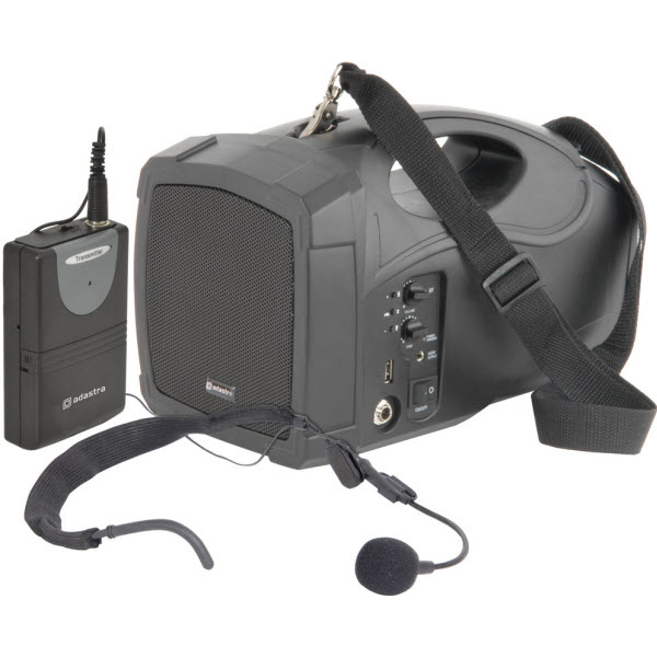 Handheld PA System with Neckband Mic