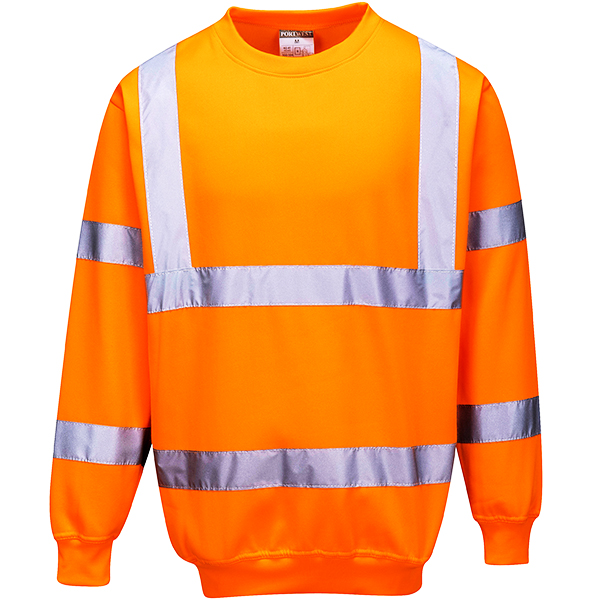 Hi-Vis Orange Sweatshirt