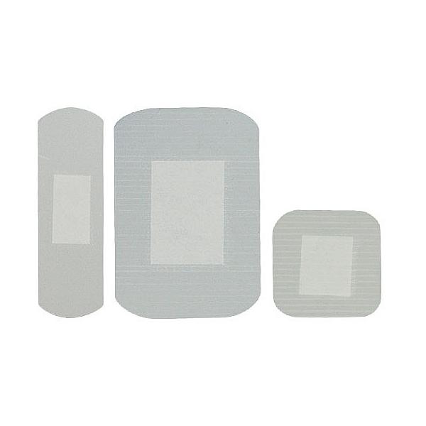 Clear Waterproof Plasters Box of 100