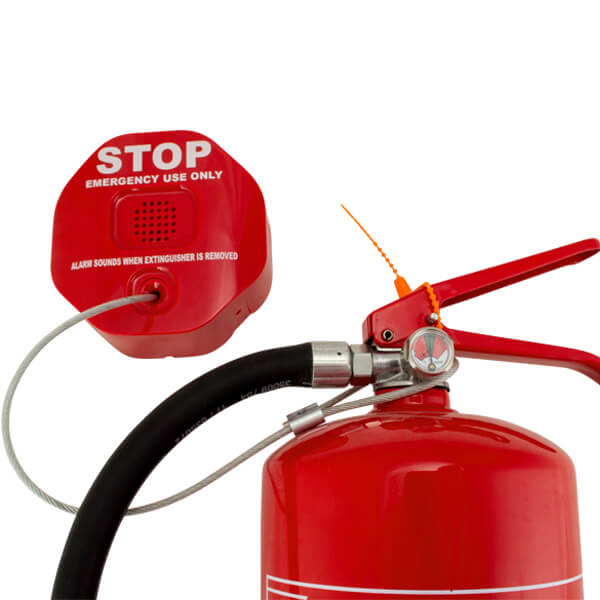 Extinguisher Stopper Alarm