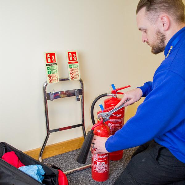 Extinguisher service