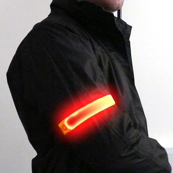 Flashing Safety Armband