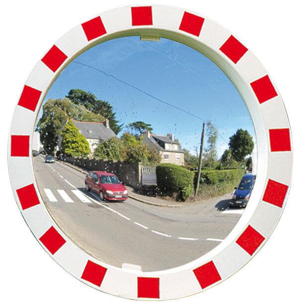 Round Industrial Safety Site Mirror