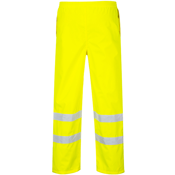 Breathable Hi-Vis Yellow Trousers