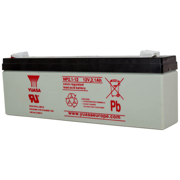 Yuasa NP2.1-12 Sealed Lead Acid Battery