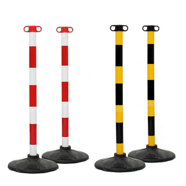 JSP Barrier Posts & Bases Kit