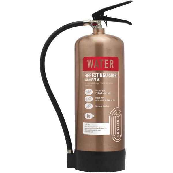 Antique Copper 6 litre Water Extinguisher