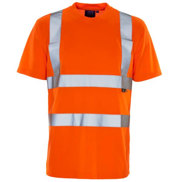 Hi-Vis Sunscreen Orange T-Shirt
