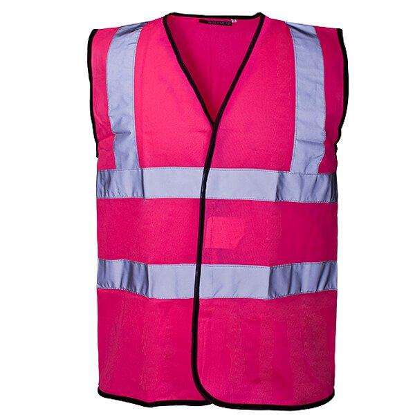 Hi-Vis Vest Pink