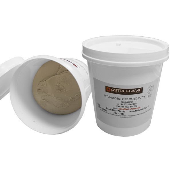 Intumescent putty