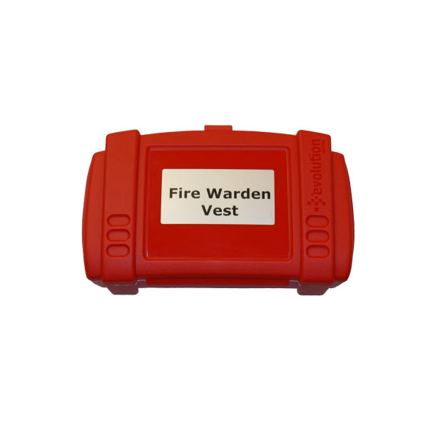 Fire Warden Vest Storage Box